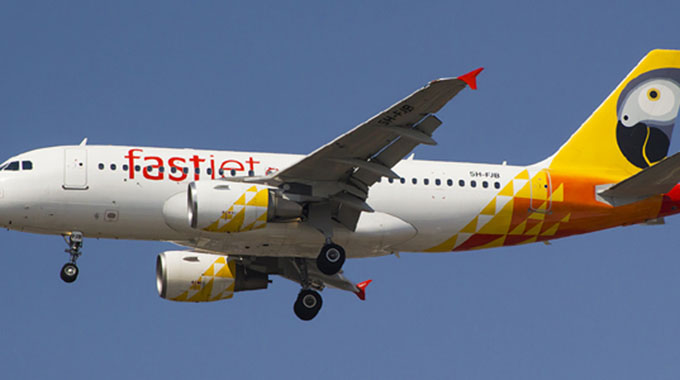 Fastjet named Africa's leading low-cost airline